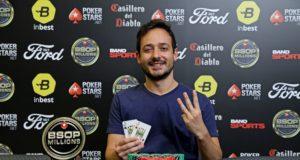 Felipe Rubino - Campeão Heads-Up BSOP Millions
