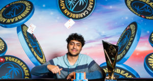 Martin Zamani campeão do High Roller do PokerStars Caribbean Adventure