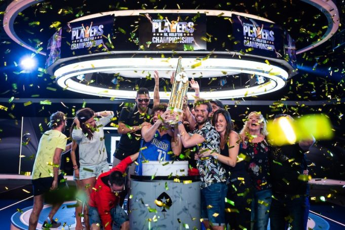 Festa de Ramon Colillas campeão do PokerStars Players Championship