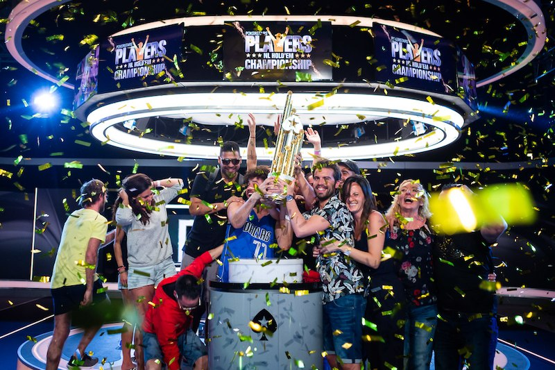 Festa de Ramon Colillas campeão do PokerStars Players Championship