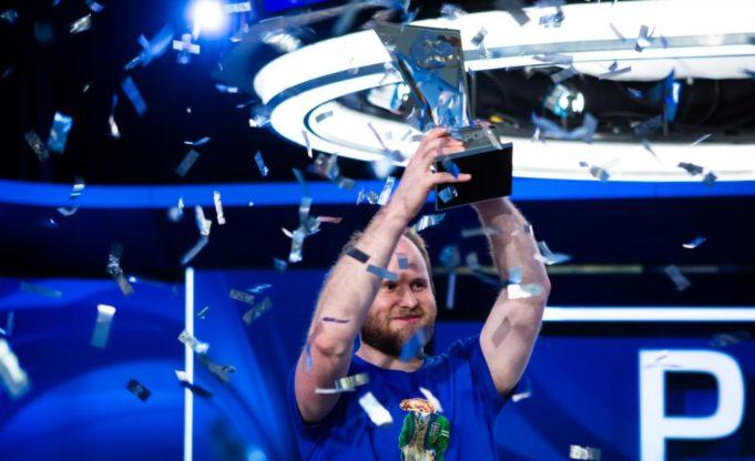 Sam Greenwood campeão do Super High Roller do PCA