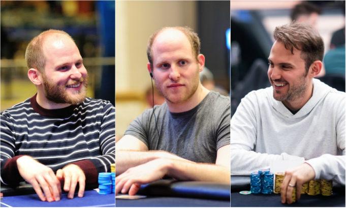 Sam, Luc e Max Greenwood