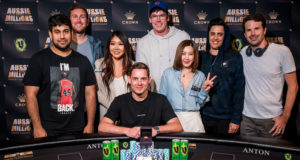 Toby Lewis campeão do AU$ 50.000 Challenge do Aussie Millions