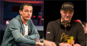 Tom Dwan e Phil Hellmuth