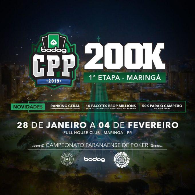 Primeira etapa do Circuito Paranaense de Poker
