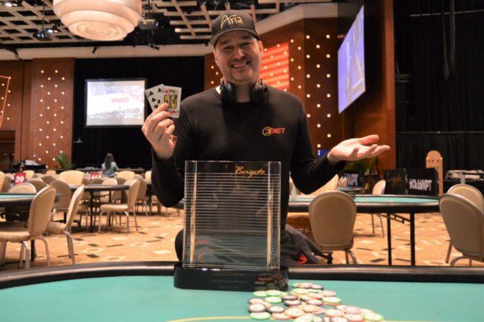 Phil Hellmuth - Campeão evento de Heads-Up - Borgata Winter Poker Open