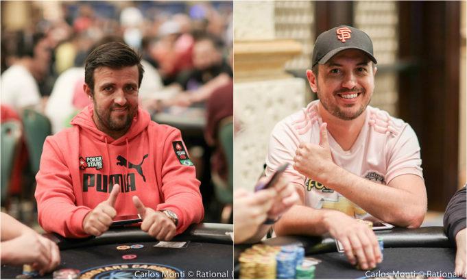 André Akkari e Murilo Figueredo - PokerStars Caribbean Adventure