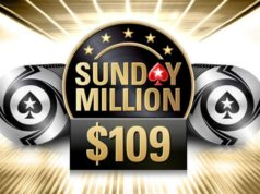 Sunday Million $109 - PokerStars