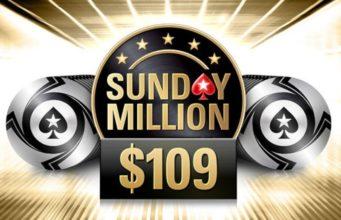 Sunday Million $109 - PokerStars