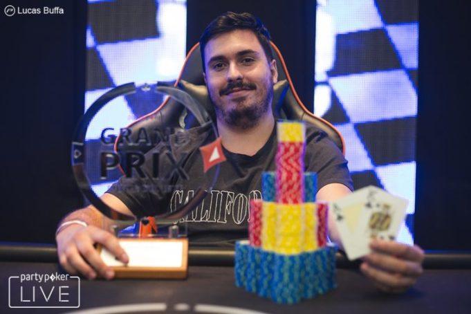 Álvaro Pretone campeão do Open do Grand Prix Punta del Este