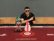 José Rosalvo campeão da primeira etapa do Circuito Paranaense de Poker