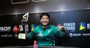 Luis Kamei - Campeão BSOP Iguazu