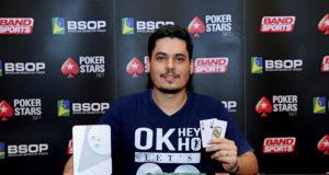 Gabriel Bonfim - Campeão 6 Handed - BSOP Iguazu
