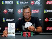 Rogério Siqueira - Campeão 8 Game - BSOP Iguazu