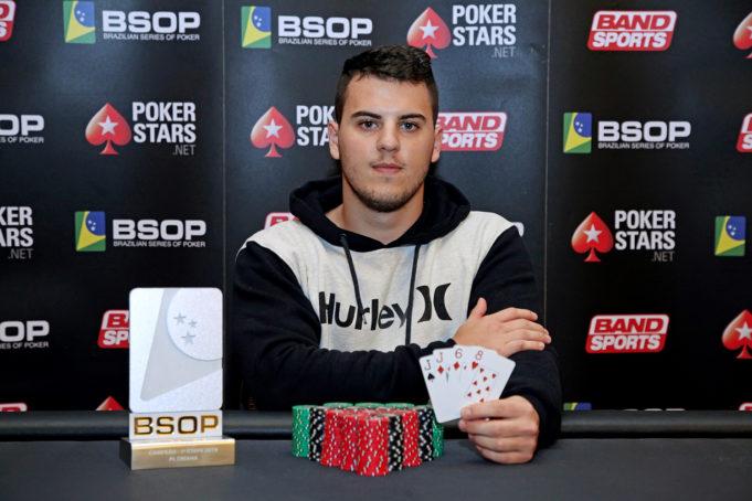 Bruno Gazotto - Campeão Pot Limit Omaha - BSOP Iguazu