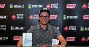 Guilherme Trevisan - Campeão Start-Up - BSOP Iguazu