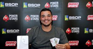 Pablo Menezes - Campeão Turbo 4 Blinds - BSOP Iguazu