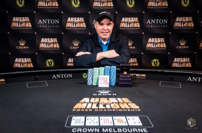 Cary Katz campeão do AU$ 100.000 Challenge do Aussie Millions