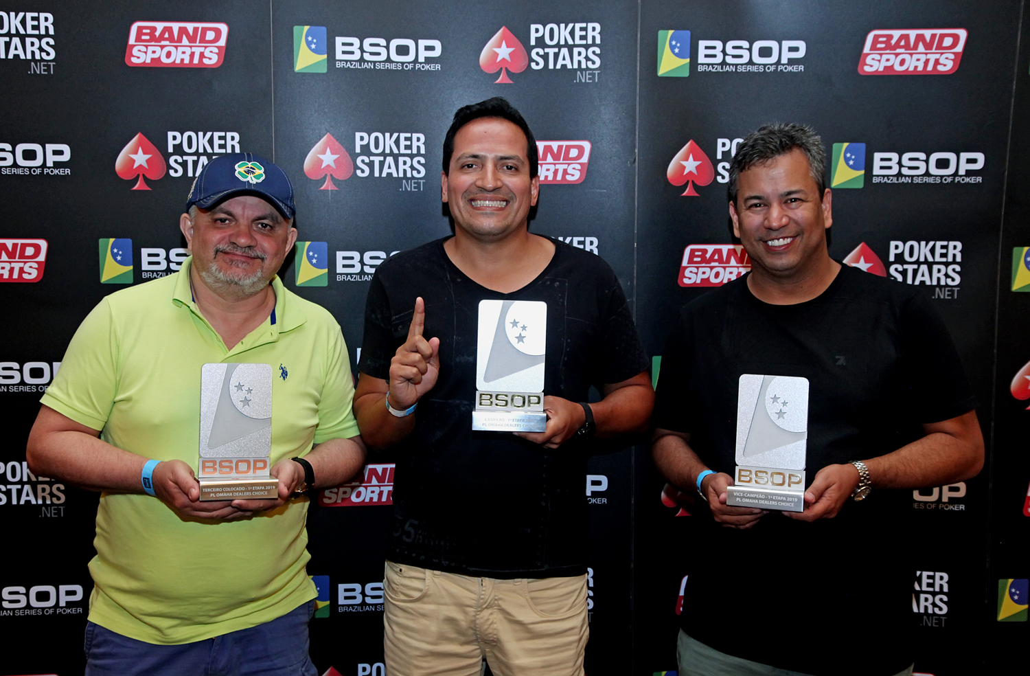 Finalistas Dealers Choice - BSOP Iguazu