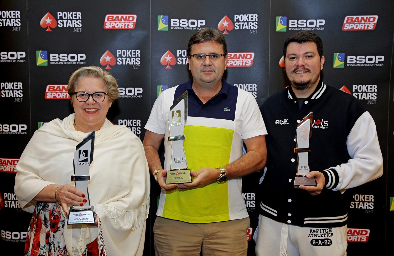 Finalistas High Roller - BSOP Iguazu