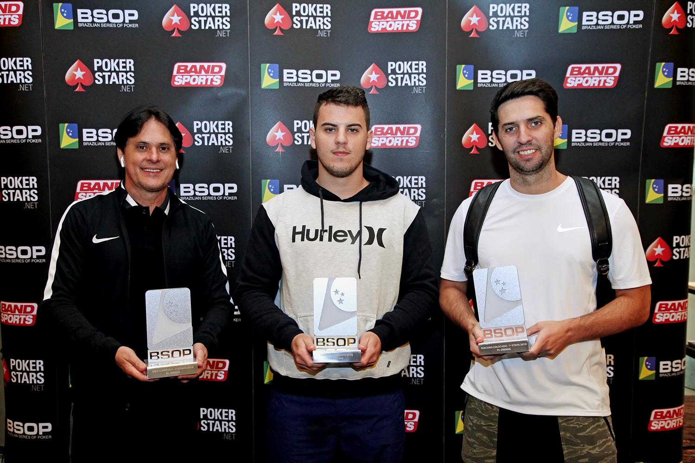 Finalistas Pot Limit Omaha - BSOP Iguazu