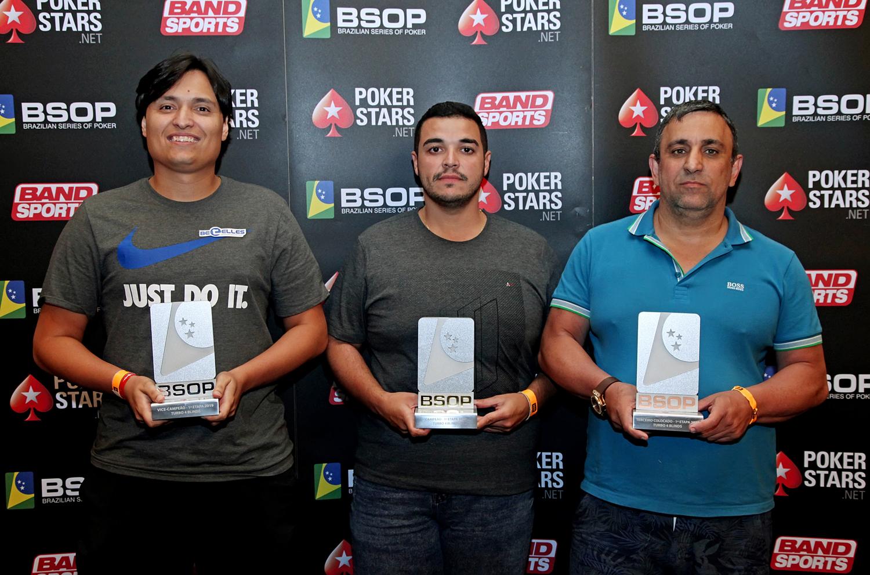 Finalistas Turbo 4 Blinds - BSOP Iguazu