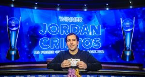Jordan Cristos campeão do Evento #2 do US Poker Open