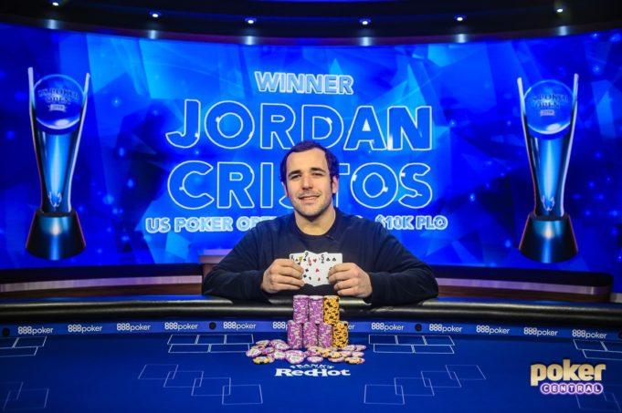Jordan Cristos campeão do Evento #2 do US Poker Open