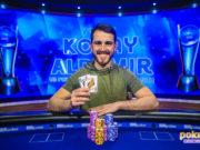 Koray Aldemir campeão do Evento #9 do US Poker Open (Foto: PokerCentral)
