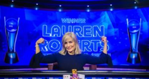 Lauren Roberts campeã do Evento #3 do US Poker Open