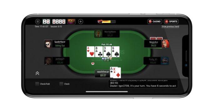 Layout PokerStars Next Gen