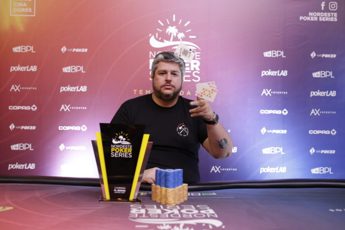 Alan Guion campeão do Pot Limit Omaha do NPS Natal