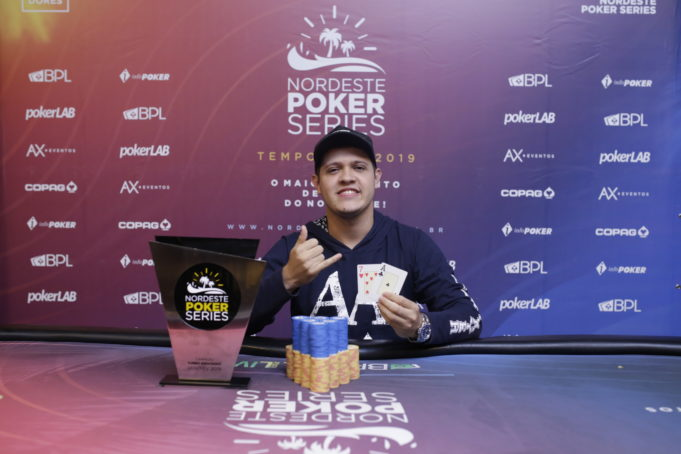 Rafael Silva campeão do 6-handed Knockout do NPS Natal