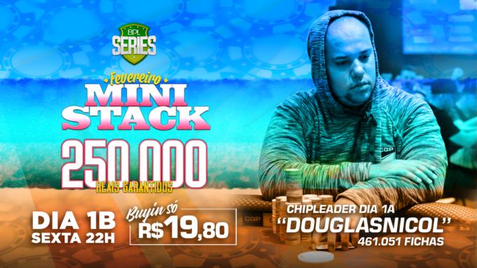 Mini Stack Brasil Poker Live