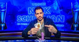 Nick Schulman campeão do Evento #8 do US Poker Open