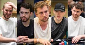 Sean Winter, Koray Aldemir, Ryan Riess, Alex Foxen e David Peters
