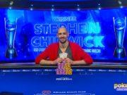 Stephen Chidwick campeão do Evento #1 do US Poker Open (Foto: PokerCentral)