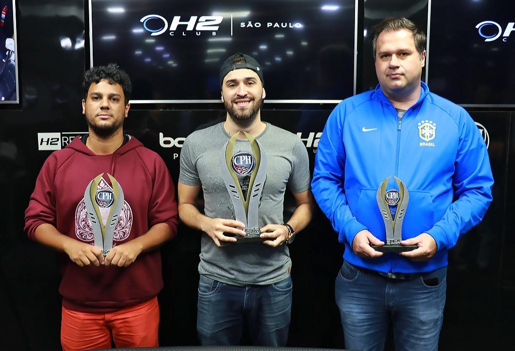 Felipe Beltrane, Cristiano Vieira e Wilson Engel - 1º CPH 2019