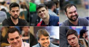 Thiago Decano, Jorge Breda, Ariel Bahia, Caio Hey, Vini Fenomeno e Éder Murata - Liga das Estrelas