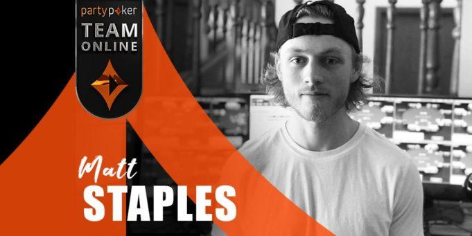 Matt Staples - partypoker Team Online