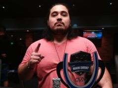 Kenji Ramos campeão do Main Event do Curitiba Poker Tour
