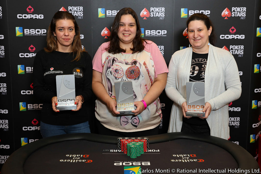 Finalistas Ladies - BSOP São Paulo