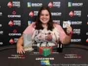 Nadin Kuntze - Campeã Ladies - BSOP São Paulo