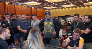 Bolha do 1-Day High Roller do BSOP São Paulo