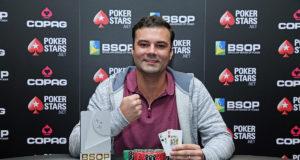 Rafael Barreto campeão do Turbo Knockout do BSOP São Paulo