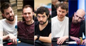 Dominik Nitsche, Justin Bonomo, Timothy Adams, David Peters e Stephen Chidwick