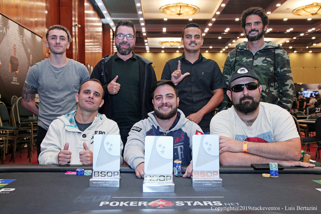 Mesa Final - 6-Handed BSOP São Paulo