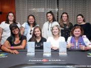 Mesa Final do Ladies Event do BSOP São Paulo