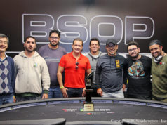 Mesa Final do Main Event do BSOP do São Paulo