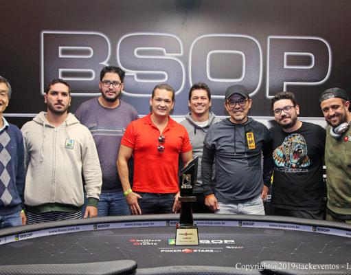 Mesa Final do Main Event do BSOP do São Paulo
